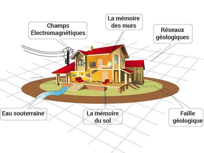 Geobiologie habitation maison