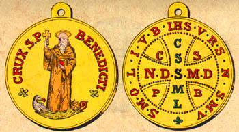 Medaille saint benoit