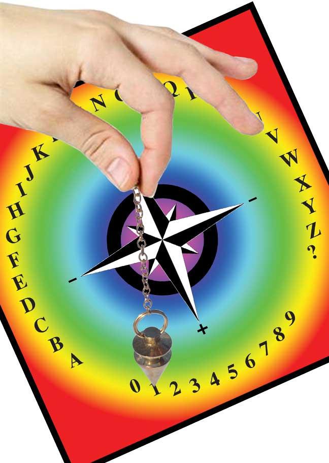 Planche de radiesthesie universelle