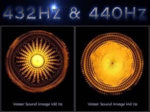 Différence entre 432 et 440 Hz